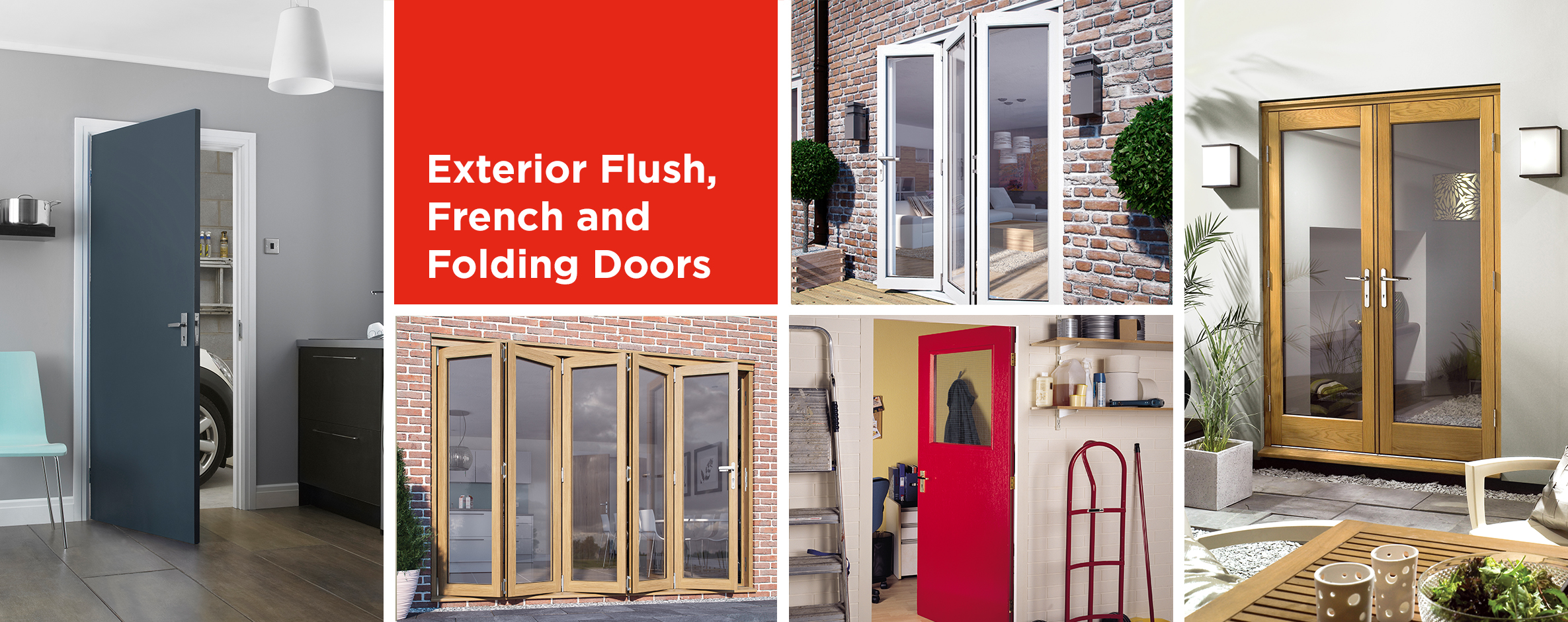 Exterior Flush, French and Folding Doors